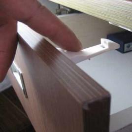 Hidden Drawer/Cabinet Lock