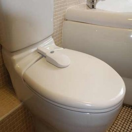 Toilet Seat Lock