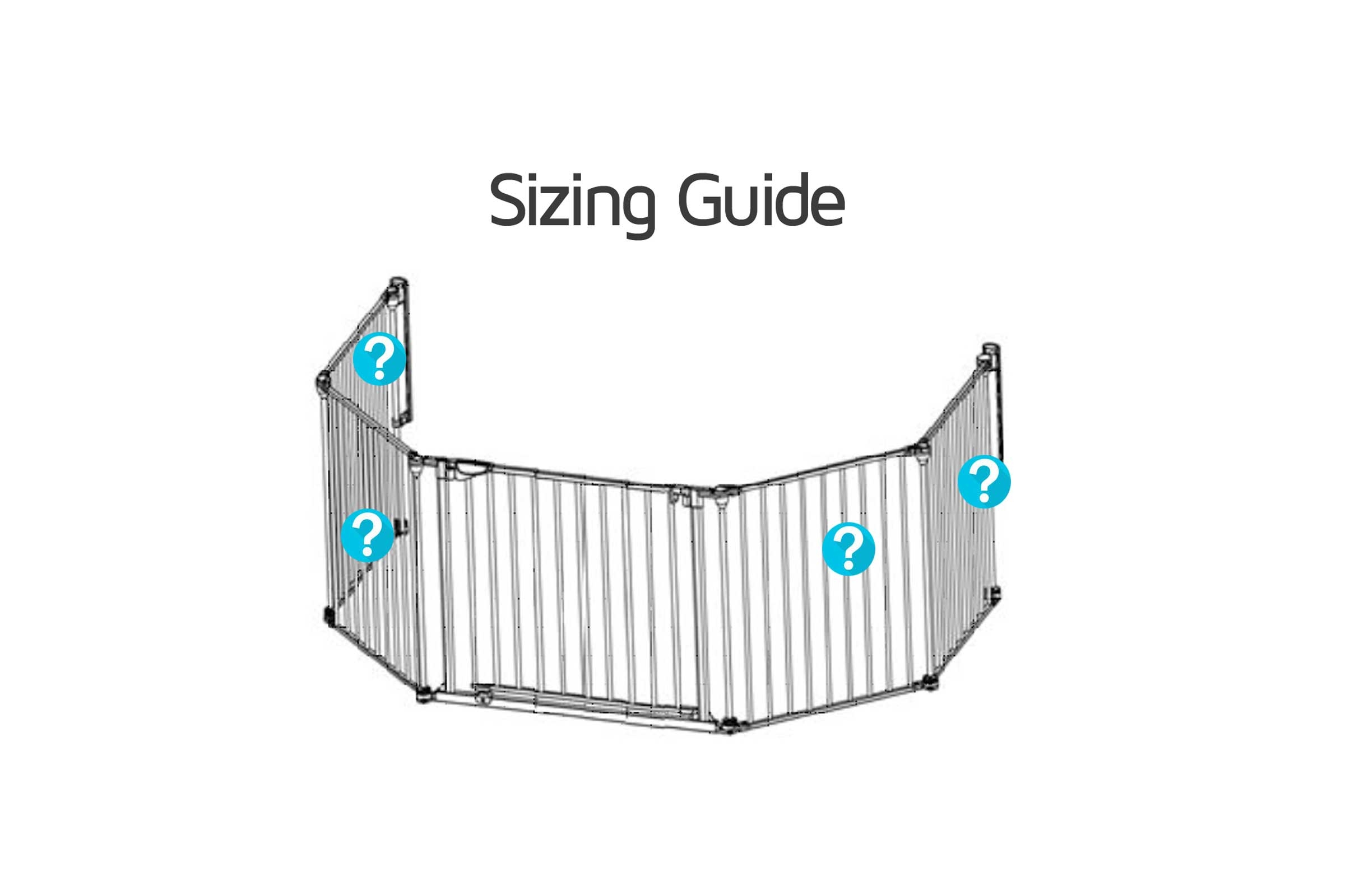 baby fireguard uk sizing guide