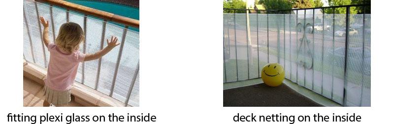 plexiglass balcony railings Toddler Balcony Safety 101